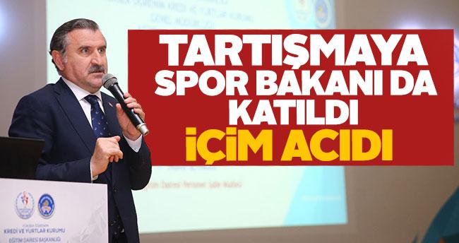 Spor Bakanı Bak da yabancı kuralını eleştirdi
