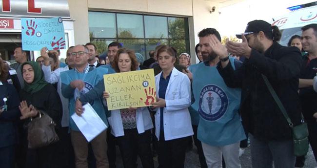 Konya'da acil servis çalışanına şiddet!