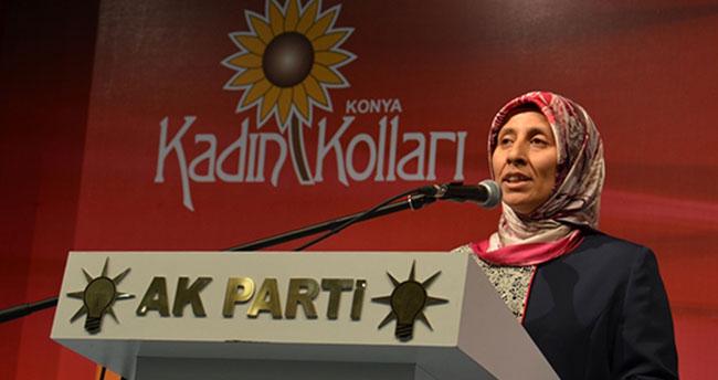 AK Parti Konya Kadın Kolları Başkanı istifa etti