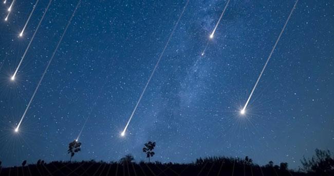 Bu gece gökyüzünde orionid meteor yağmuru yaşanacak