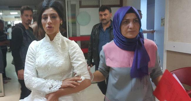 Düğünde kız tarafı ile erkek tarafı kavga etti, gelin ile birlikte 11 kişi yaralandı