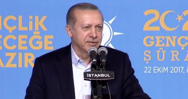 Erdoğan'dan gençlere tavsiyeler : Memurlukla değil, girişimcilikle ilgilenin