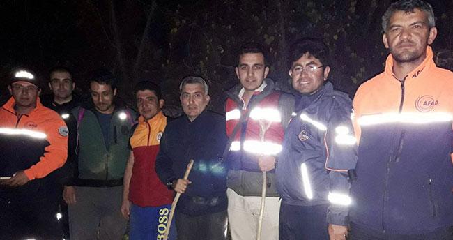 Konya'da Kanyonda kaybolan 4 kişi AFAD ekiplerince kurtarıldı