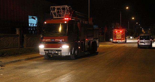 Konya'da alüminyum fabrikasında yangın:2 yaralı