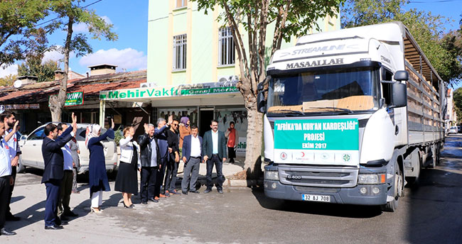 Konya'dan 15 Afrika ülkesine 21 bin 500 Kur'an-ı Kerim
