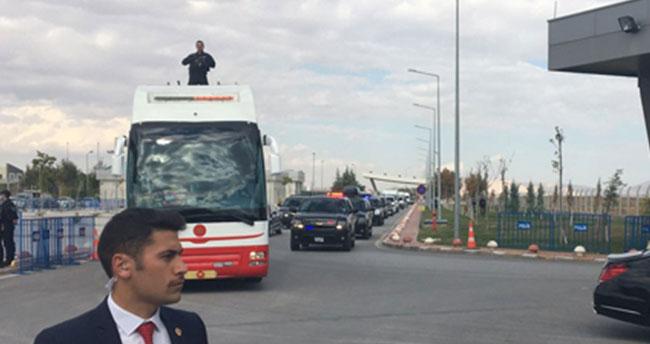 Cumhurbaşkan Erdoğan ve Başbakan Yıldırım Konya'ya geldi!