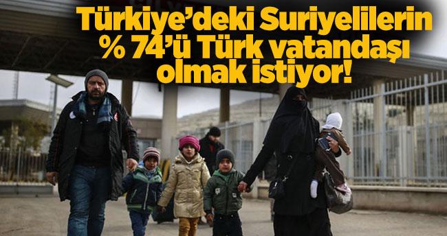 Türkiye'deki Suriyeli mülteciler Türk vatandaşı olmak istiyor