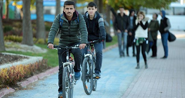 Türkiye'nin bisiklet şehri, Kopenhag hedefine yürüyor