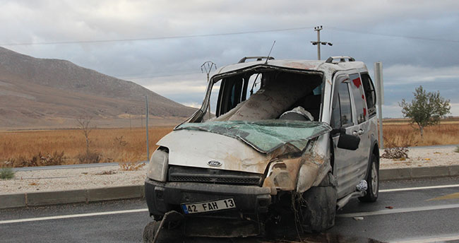 Konya'da 2 yaşındaki çocuk kazada öldü
