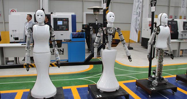 Konya'da milli insansı robot fabrikası açıldı