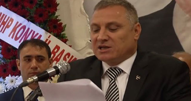 MHP Karatay İlçe Başkanı görevinden istifa etti