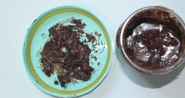 Çikolata kavanozundan kemik parçaları çıktı