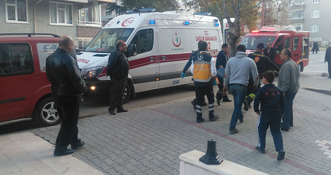Konya'da anten tamircisi havalandırma boşluğuna düştü
