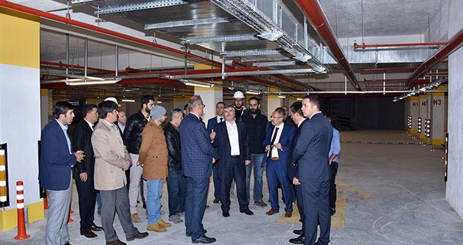 Konya'da bin araçlık otopark tamamlandı