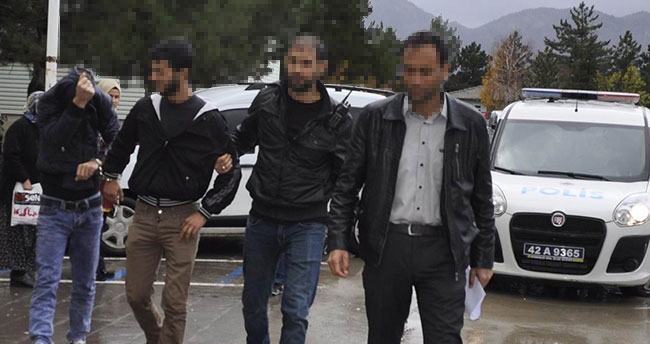 Konya'da akü çaldığı iddia edilen 2 kişi tutuklandı