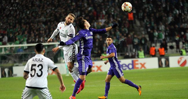 Atiker Konyaspor: 1 – Marsilya: 1