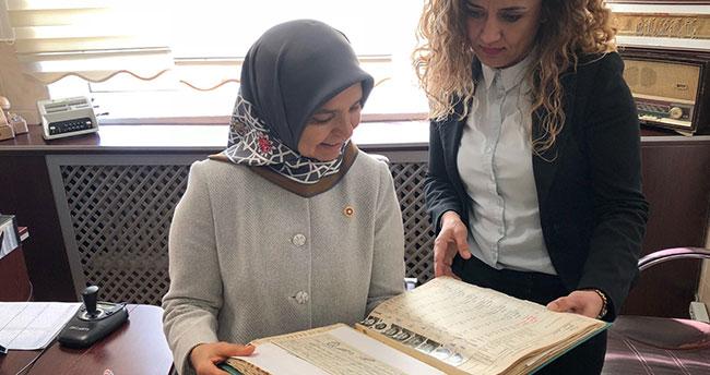 Milletvekili Hüsnüye Erdoğan mezun olduğu okulda duygusal anlar yaşadı