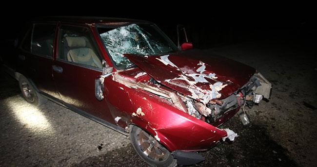Konya'da feci kaza : 1 ölü, 1 yaralı
