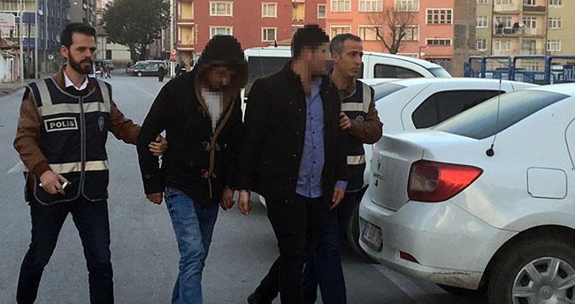 Konya'da oğlak hırsızları tutuklandı