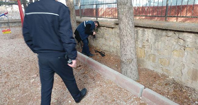 Konya'da polisle çatışan şüpheliler yağma olayına karışmış!