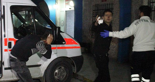 Konya'da otomobilden açılan ateşle 2 kişi yaralandı