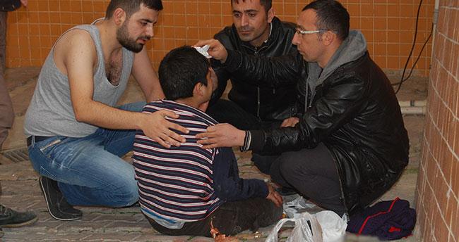 Konya'da 6 metreden aşağı düşen çocuk yaralandı