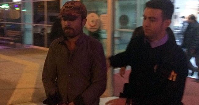 Konya'da kaçak Afgan yolcuların ihbarı üzerine yakalandı