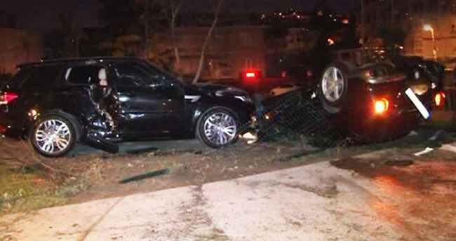 Ferrari ile kaza yapan Burak Yılmaz ifade verdi