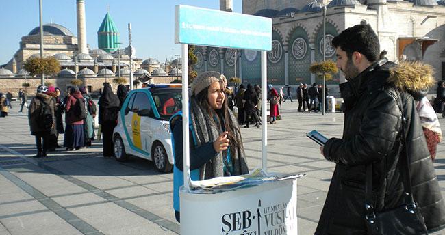 Konya'da 'BANA SOR' Uygulaması Vatandaşlardan Beğeni Topluyor