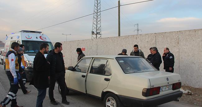 Konya'da otomobil içinde erkek cesedi bulundu