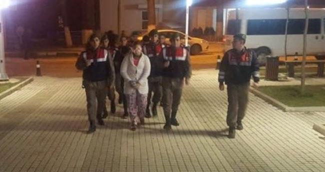 Takılarla kaçan sahte gelin Konya'da yakalandı