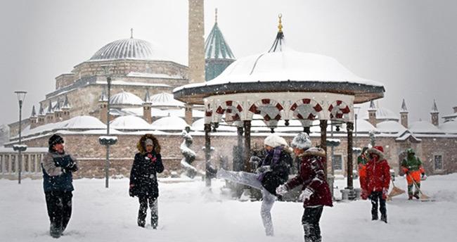 Konya'ya bu hafta kar geliyor – Konya Hava Durumu
