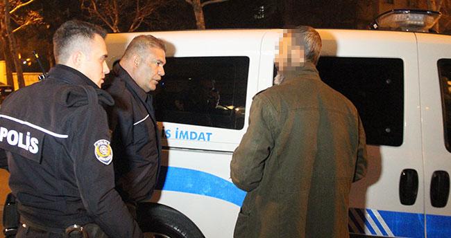 Konya'da havaya ateş eden maganda polise yakalanınca 'silahı denedim' dedi