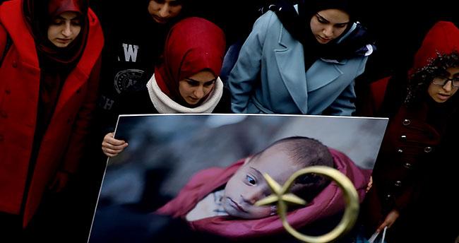 Konya'da lise öğrencilerinden Kerim bebeğe destek