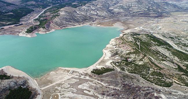 Konya'da baraj ve göletler yağış bekliyor