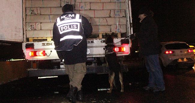 Konya'nın giriş ve çıkış noktalarından kaçakçılara geçit yok