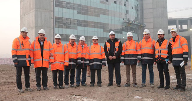 Konya Şehir Hastanesi İnşaatı Hızla İlerliyor