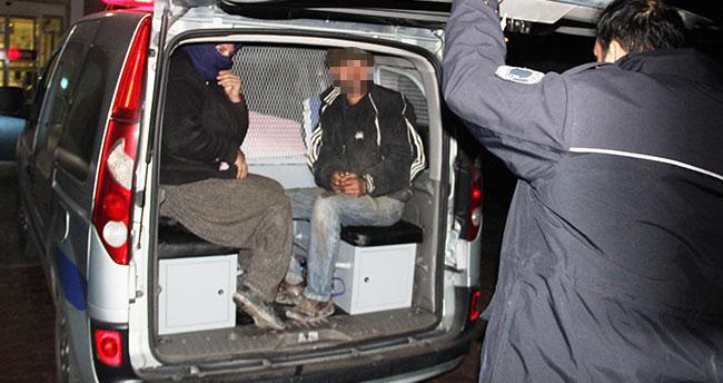 Konya'da hırsızlık yapan karı koca 10 dakika sonra yakalandı