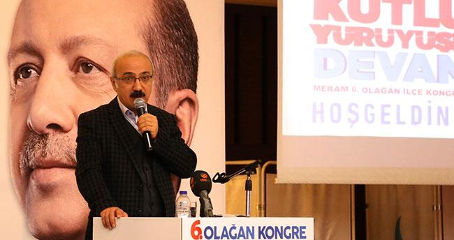 """Bakan Elvan: """"Türkiye'nin büyümesini ve güçlenmesini istemiyorlar"""""""