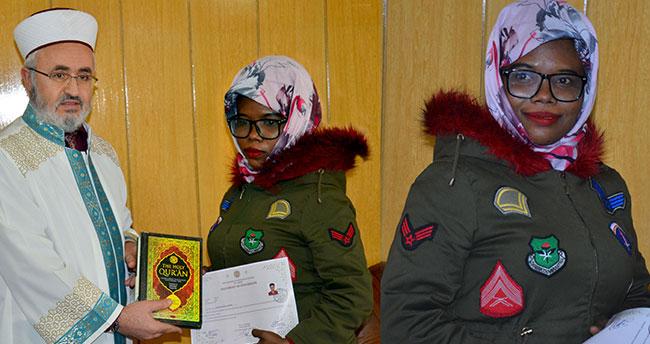 Nijerya Uyruklu Blessing Brandy Aguriase İslam'ı Seçti