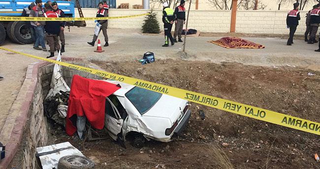 Konya'da trafik kazası! 3 ölü