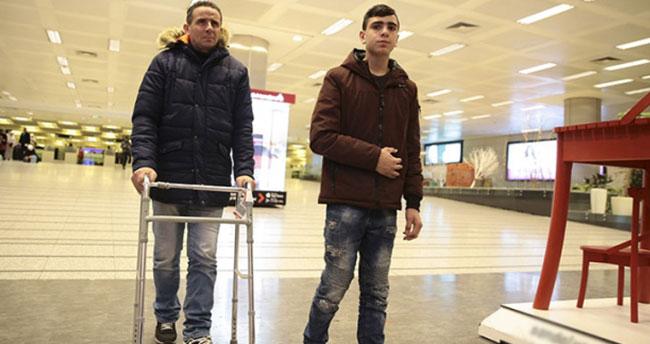 Kudüs direnişinin sembolü Filistinli Cuneydi Türkiye'de