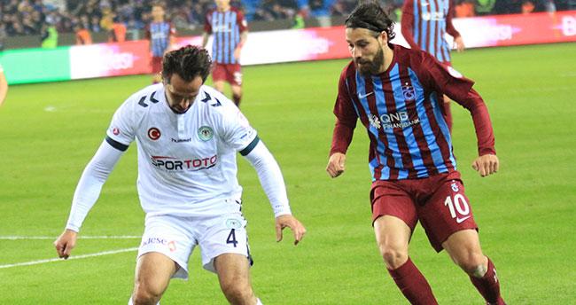 Trabzonspor 1 – 1 Konyaspor