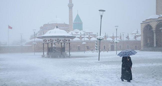Konya'da kar yağışı ne kadar sürecek?