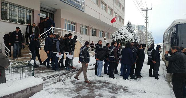 Konya'da uyuşturucu operasyonu : 20 gözaltı