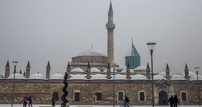 Konya'da kar tatili!