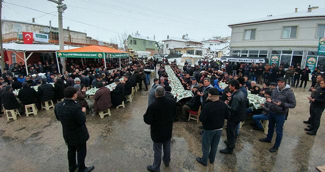 Konyalı şehit Ali Taştepe için mevlüt okutuldu