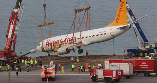 Trabzon'da pistten çıkan uçak için yeni proje!