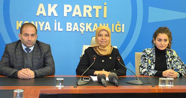 Milletvekili Hüsnüye Erdoğan gündemi değerlendirdi