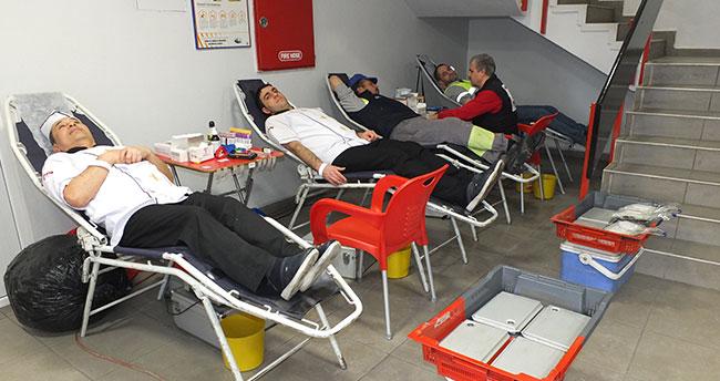 Konya Çimento'dan kan bağışı kampanyası